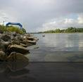 Schwimmen: Bis zur Brücke und zurück!