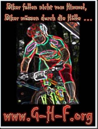 Biker in die Hölle